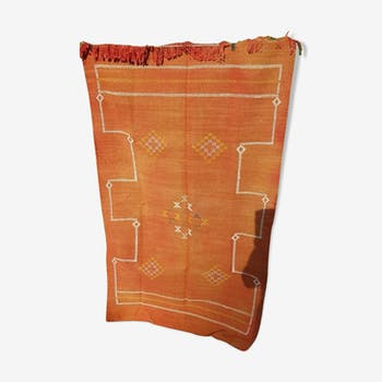 Moroccan Berber cactus silk carpet