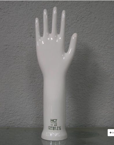 Pair of hands West Germany porcelain