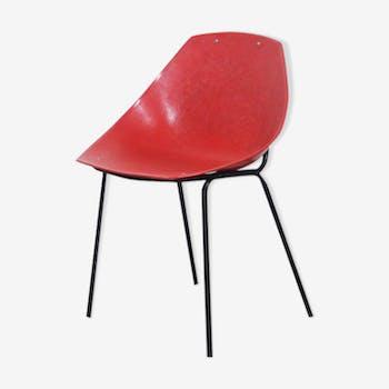 Chair Pierre Guariche for Meurop 1950's shell