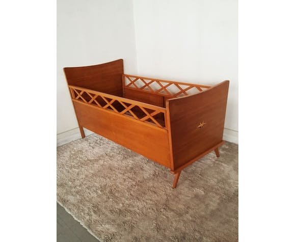 Compass 50s wooden cot