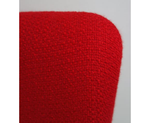 Miroslav Navratil chaise rouge des années 1960 tchèque
