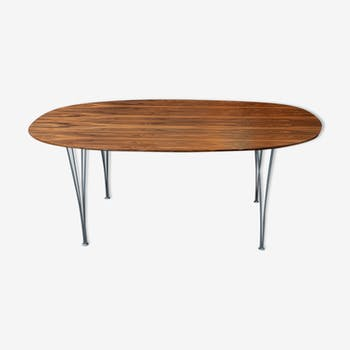 Jacobsen, Hein and Mathsson Super-Elliptic table by Fritz Hansen - Vintage
