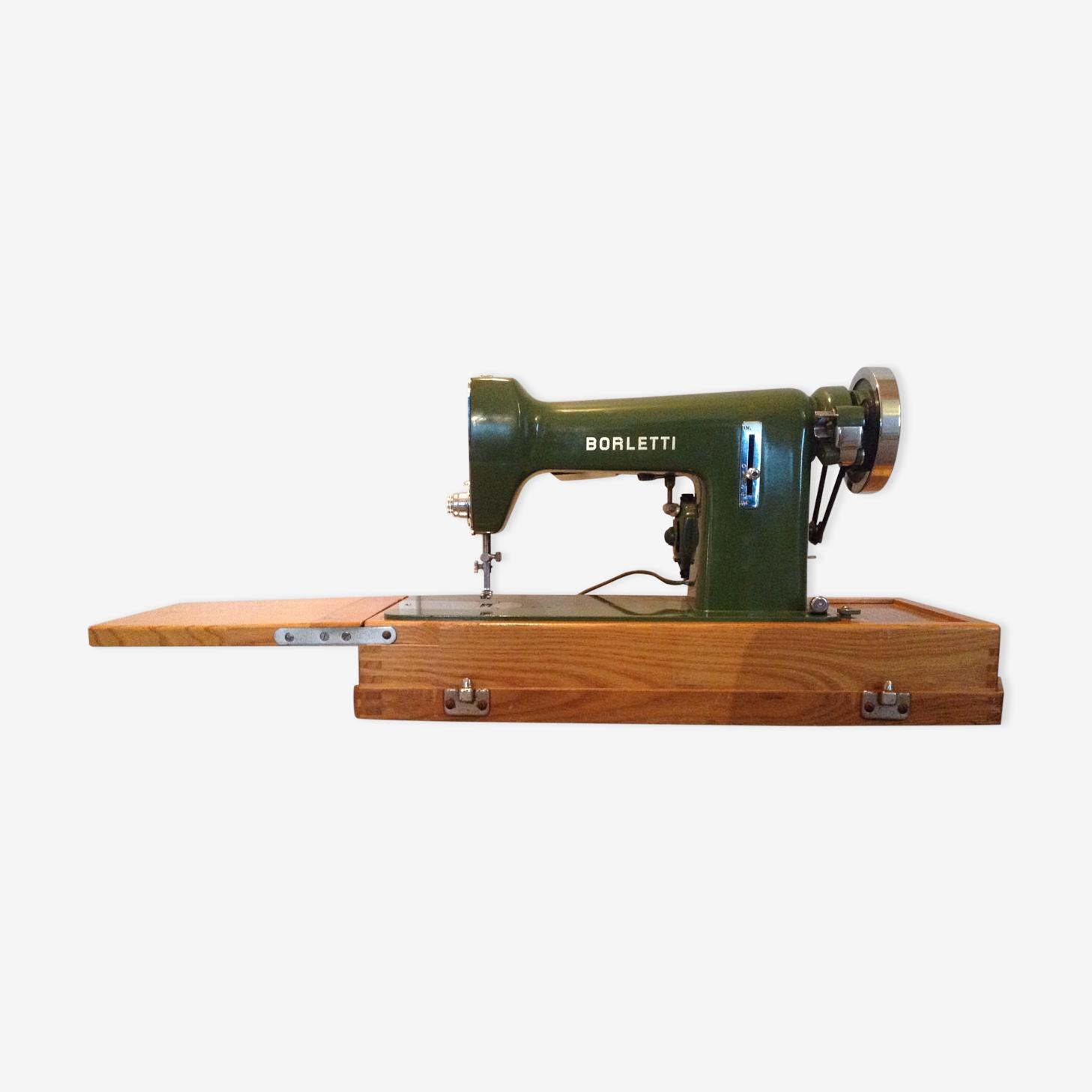Machine à coudre italienne Borletti vintage