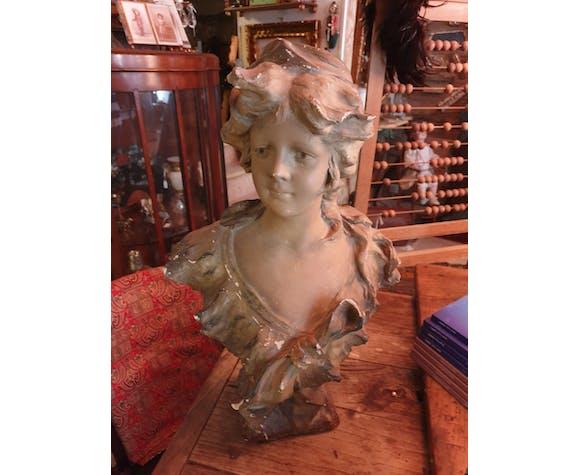 Buste de Marianne plâtre