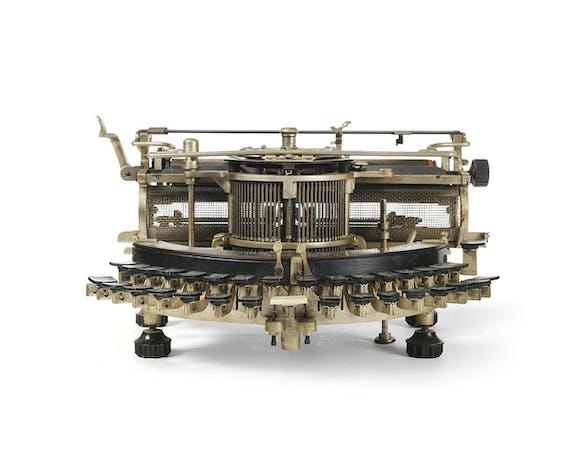 Machine à écrire Multiplex circa 1890