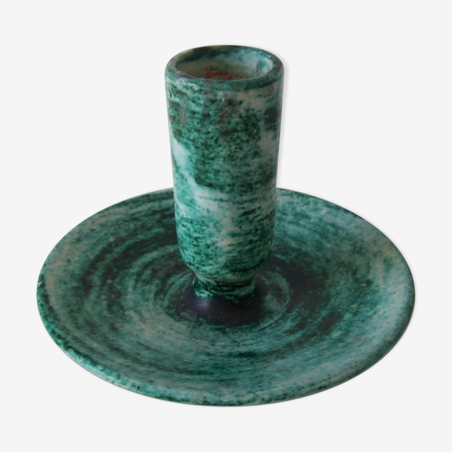 Bougeoir céramique années 60