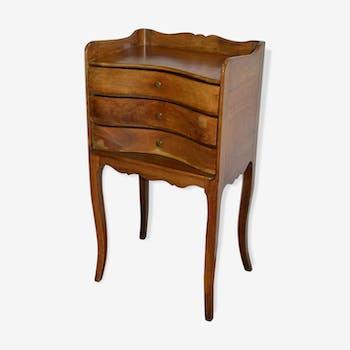 Table de chevet vintage d 39 occasion et table d 39 appoint for Table de chevet acajou