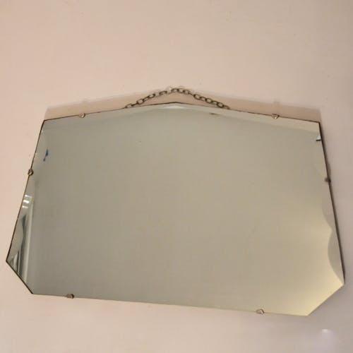 Miroir biseauté 33x59cm