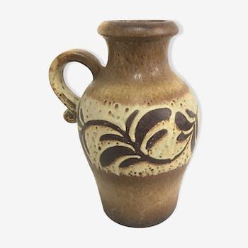 German ceramic vase West Germany