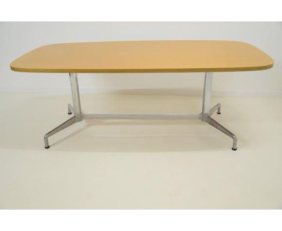 Bureau ministre table de conférence Castelli Piretti vintage années 60 70 design
