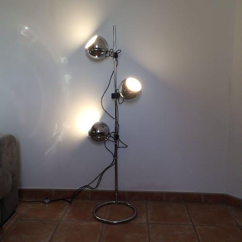 """Eye ball"" lamp by by Gaetano Reggiani, 1970"