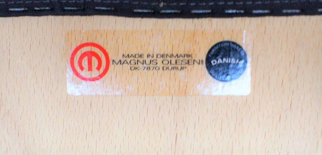 Paire de fauteuils Magnus Olesen