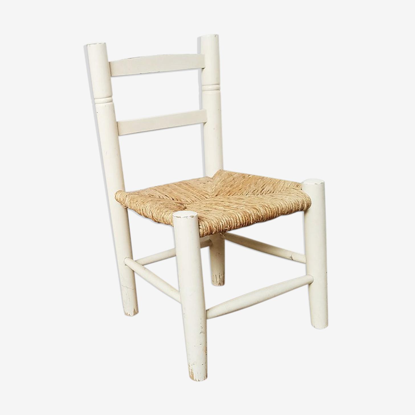 Chaise enfant bois -marceau