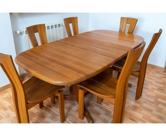 Dyrlund Teak Dining Table 1960 Selency