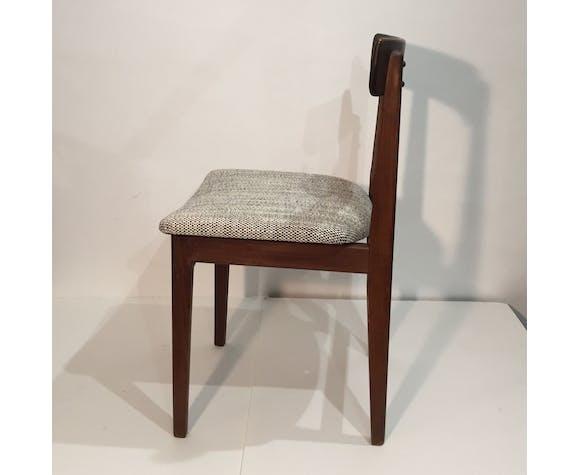 Chaise scandinave retapissée