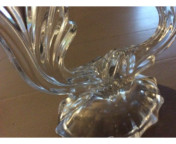 2 chandeliers en cristal