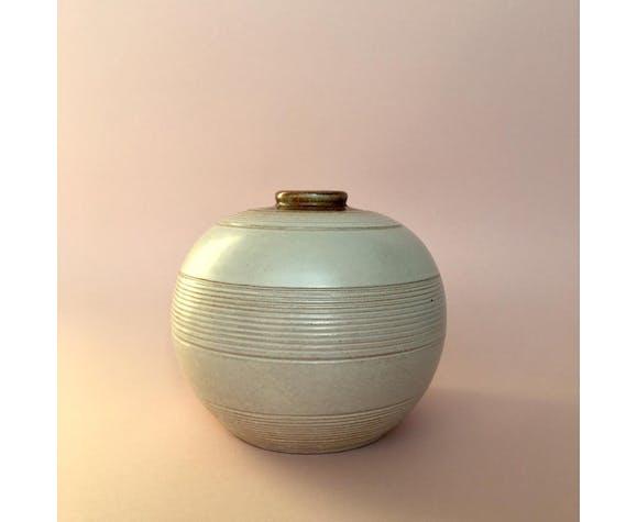 Art Deco Ceramic Vase by Anna-Lisa Thomson for Upsala Ekeby, 1930s