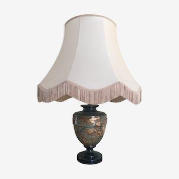 Lampe abat-jour à franges