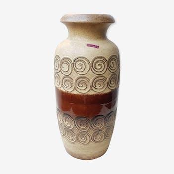 Vase Scheurich spiral pattern