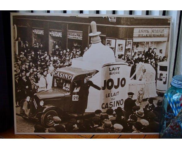Advertising carton casino milk jojo