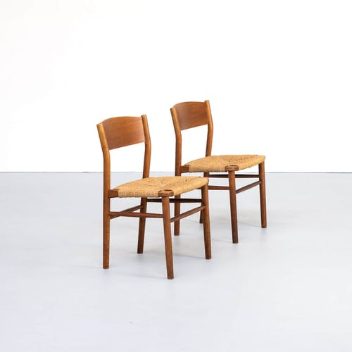 Chaises modèle 157 par Borge Mogensen pour Søborg Møbler 1950