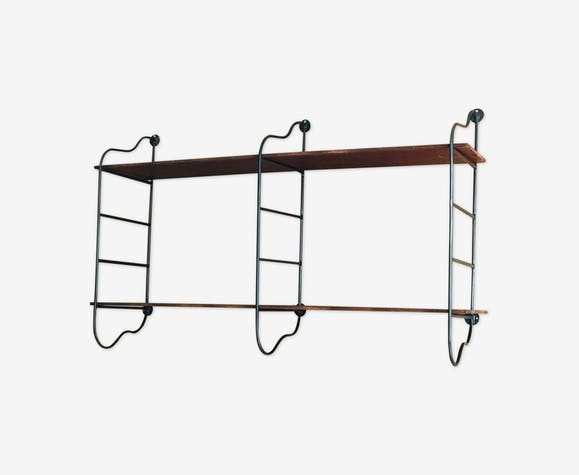 Vintage wall shelf 1960