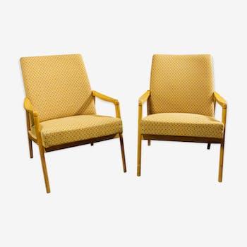 Pair of style chairs Danish 1960s