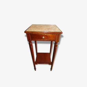 Chevet table d 39 appoint de couleur rouge vintage d 39 occasion - Table de chevet rouge ...