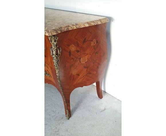 Louis XV marquetry dresser