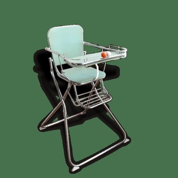 Haute 60 Années Bon Chaise État 48848 Des Plastique Vintage 70 De Bébé oWCeEdxQBr