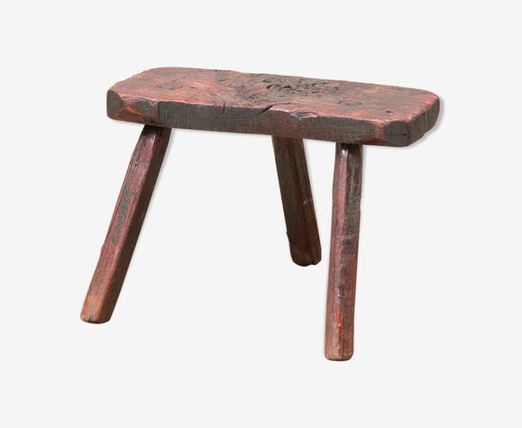 Tabouret de traite antique