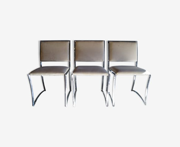 Set of 3 chairs by Cuneo