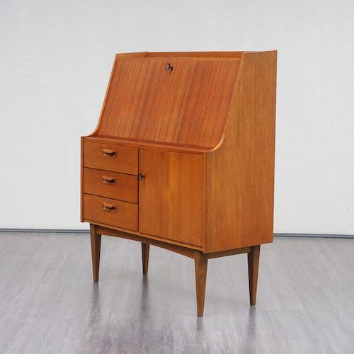 Furniture secretary 60s, teak, Scandinavian style