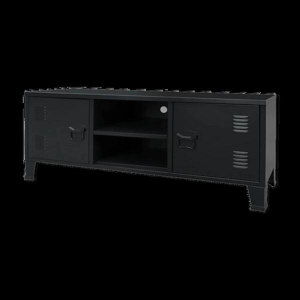 Meuble TV métal industriel