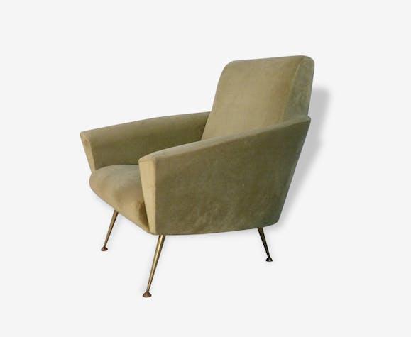 Vintage Design Fauteuil.Fauteuil Vintage Design Italien 1950 1960 Selency