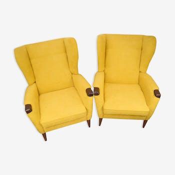 Pair of Danish armchairs 1960