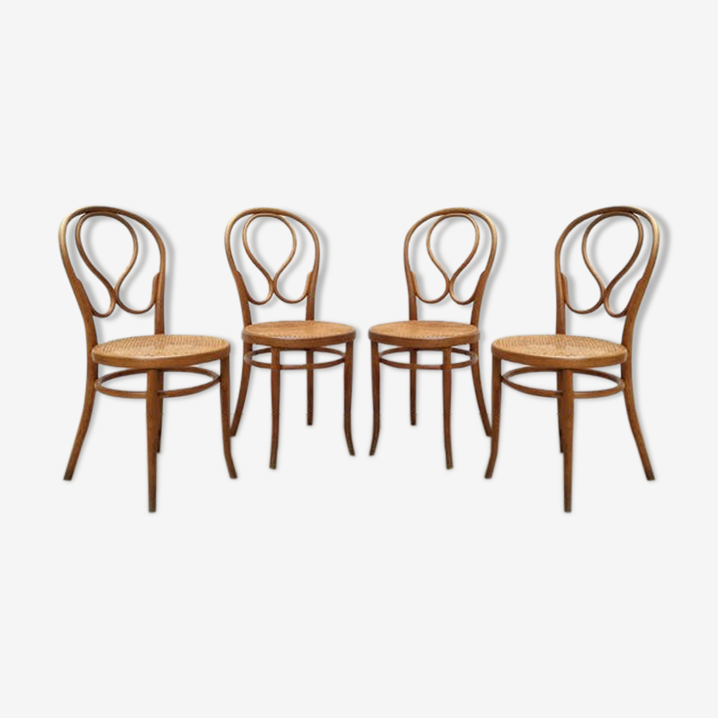 4 chaises bistrot viennoises Thonet