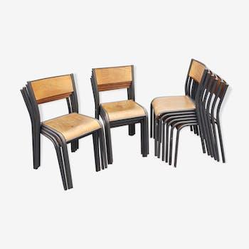 Mullca 18 chairs