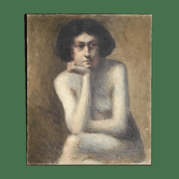 Oil On Canvas 1920 The Boy Selency