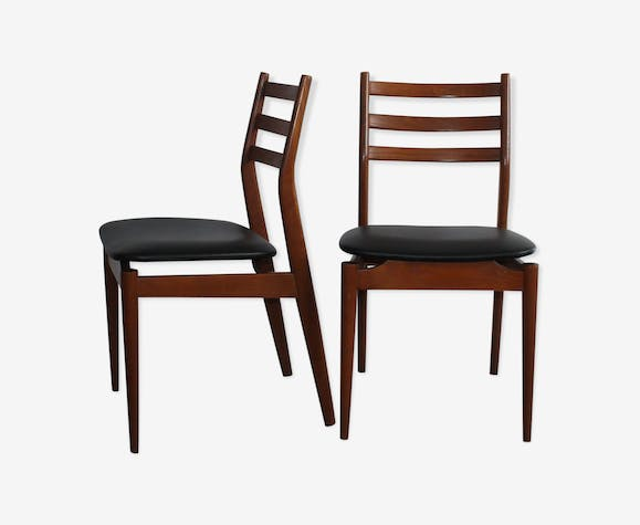 Pair of Scandinavian chairs from the 1960s