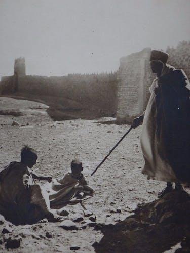 Photo orientaliste René Prouho Figuig Maroc oriental Afrique 30cmx23cm