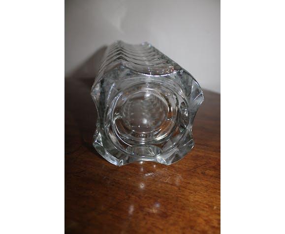 Vase en verre moulé Luminarc cristal d'Arques, France