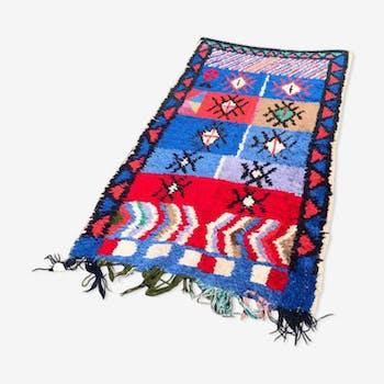 Carpet boucherouite 200x100cm