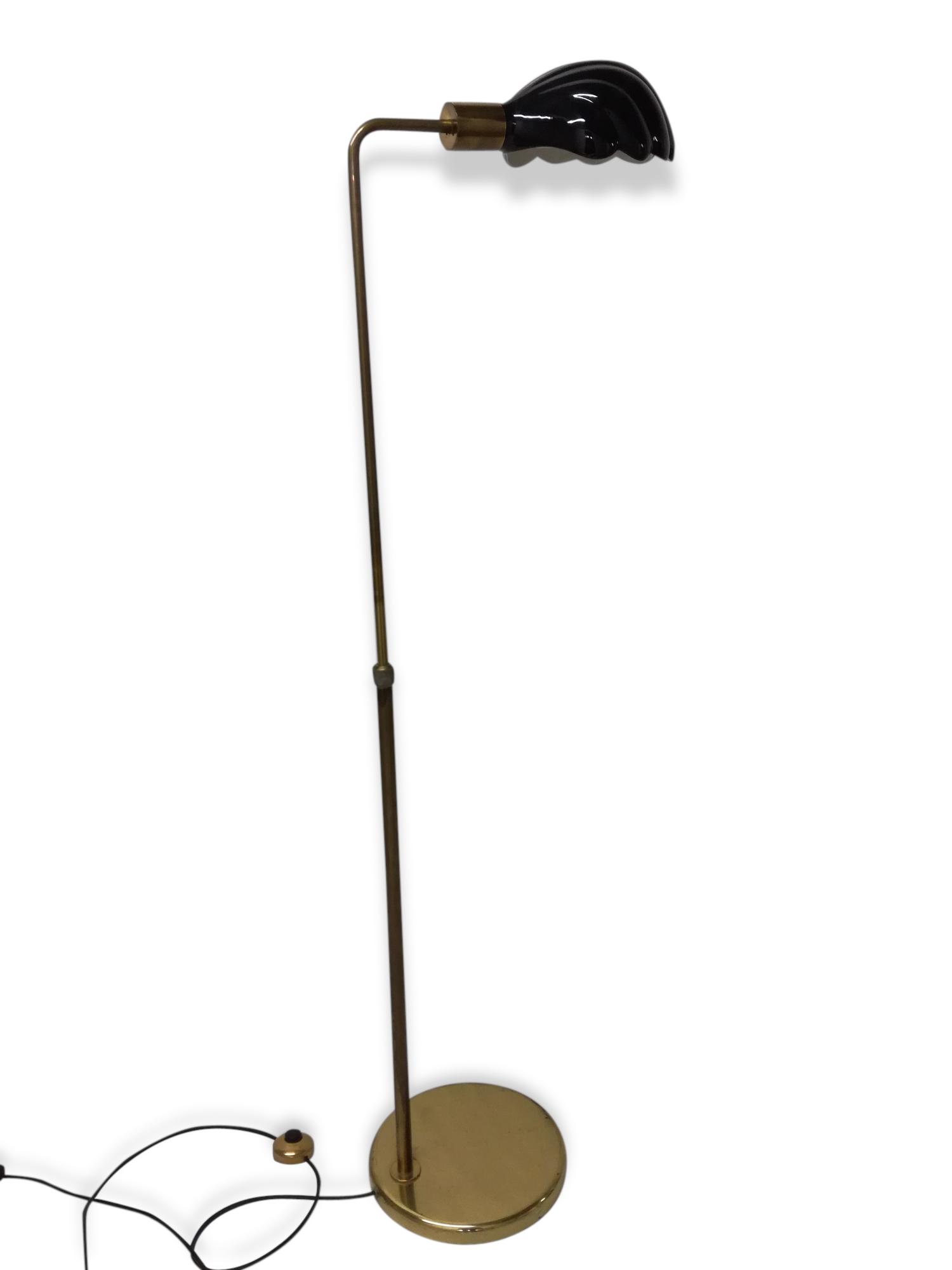 Lampadaire liseuse céramique style  Art Déco