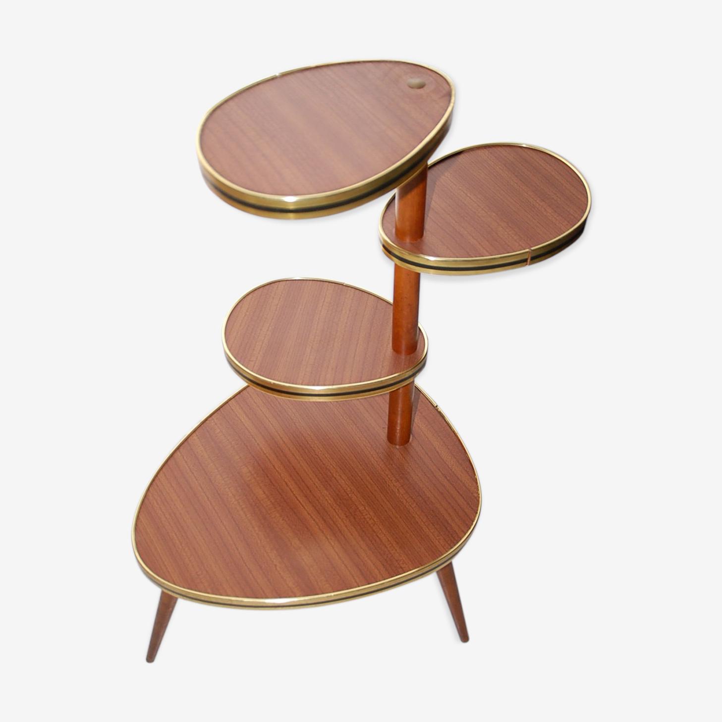 Table porte plantes en formica