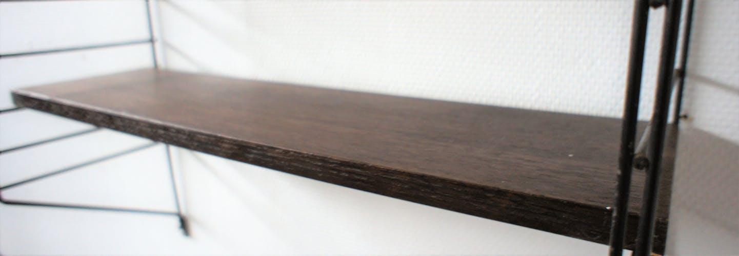 Etagère Tomado métal et bois