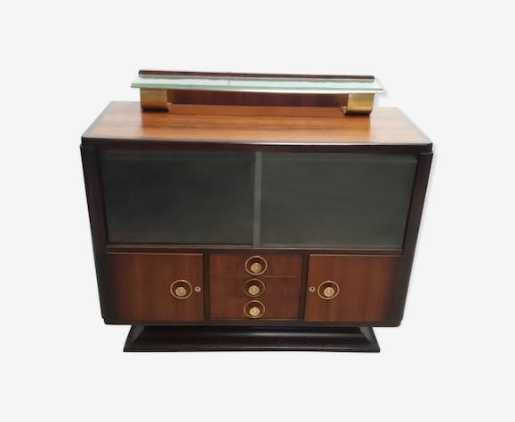 furniture / art deco Cove rosewood display case