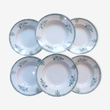 6 assiettes St Amand