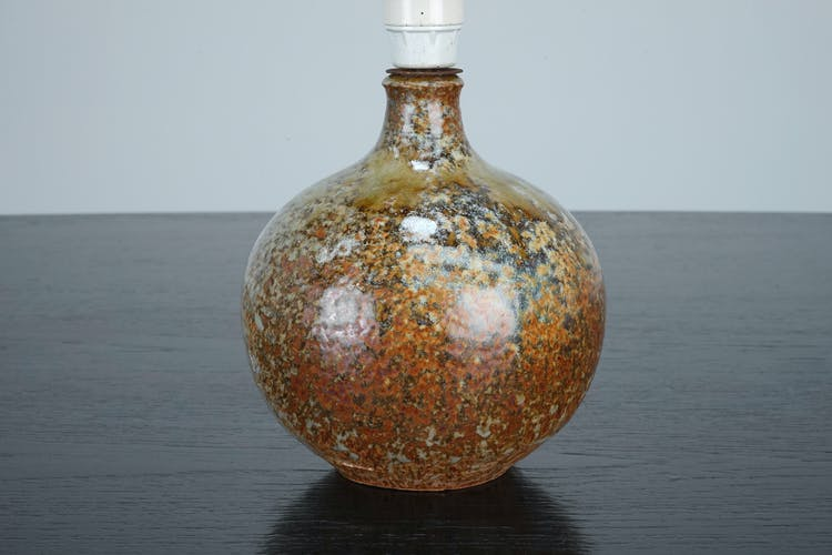 Lampe de Jacky Coville en céramique circa 1970