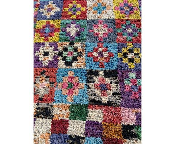 Tapis marocain boucherouite 130x210 cm